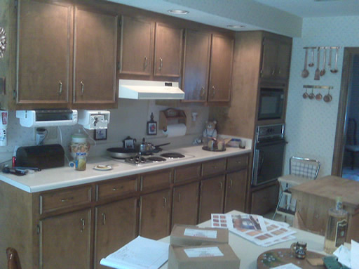 custom cabinets and kitchen remodel