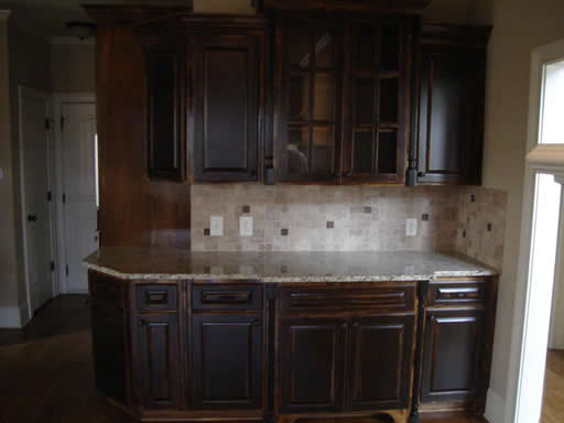 cobb county, ga kitchen renovation with custom cabinets