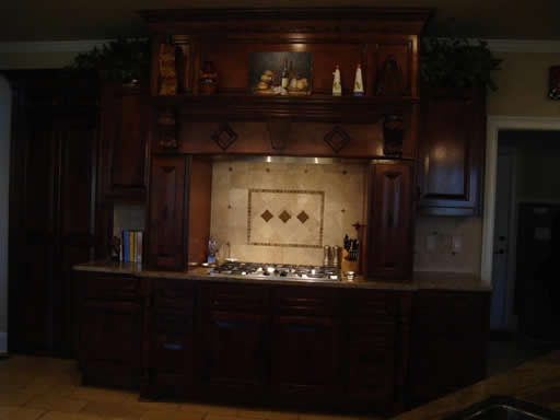 alpharetta, ga kitchen renovation with custom cabinets